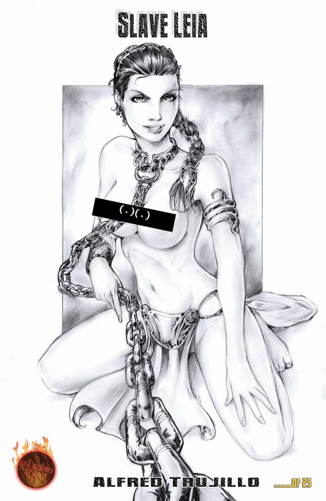 Leia Risque Print