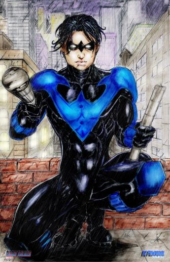 Nightwing Print lr